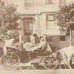 Rezydencja w latach 20-tych XX wieku.