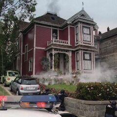 SWAT surrounding the manor. (