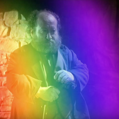 A Leprechaun Rainbow Teleporting in.