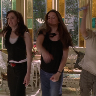 The Charmed Ones throw their vials.