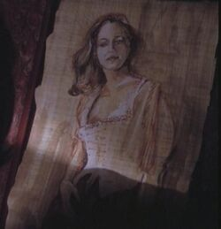 Melinda painting