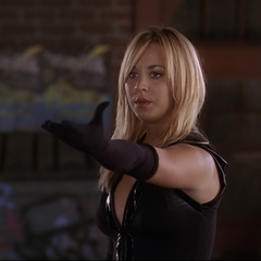 Billie telekinetically calls for her athame.