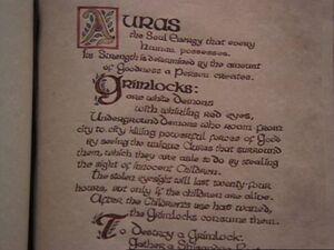 Auras and Grimlocks