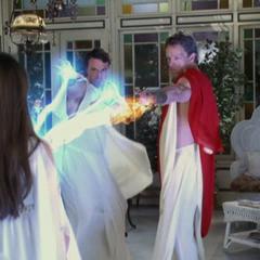 Demitrius and Cronus attack Piper.