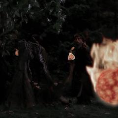 The Demons throw more fireballs.