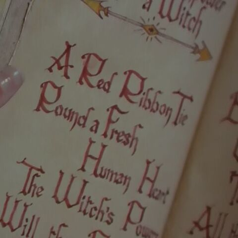 Entry page in Tuatha's book