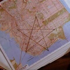 Prue and Piper discover the Nexus lies on a wiccan nexus as well