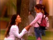 Phoebe avec sa fille