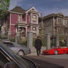 The manor in Cole's alternate reality (
