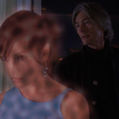 Phoebe Astral Projects to Cole's penthouse, using a spell.