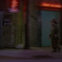 Connor using Hyper Speed.