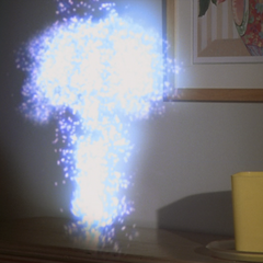 Paige orbs a lamp against Maya's head to knock her unconscious.