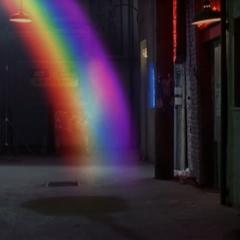 Saleel using Rainbow Teleportation.