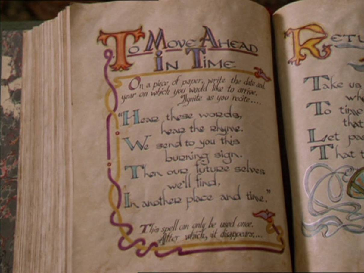 To Move Ahead in Time   Charmed   FANDOM powered by Wikia