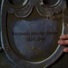 Benjamin's headstone