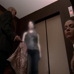 Phoenix shapeshifting into Phoebe.