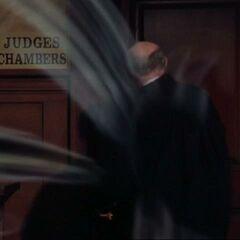 Judge summoning Guardian Demons.