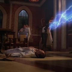 An Elder throws another lightning bolt.