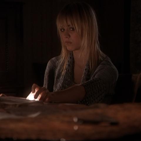 Billie's modern way of Scrying.