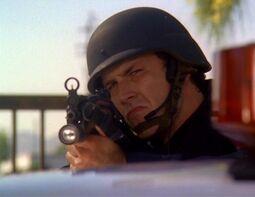 Swat-commander