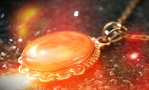 Ruby-amulet