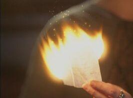 Burning spell