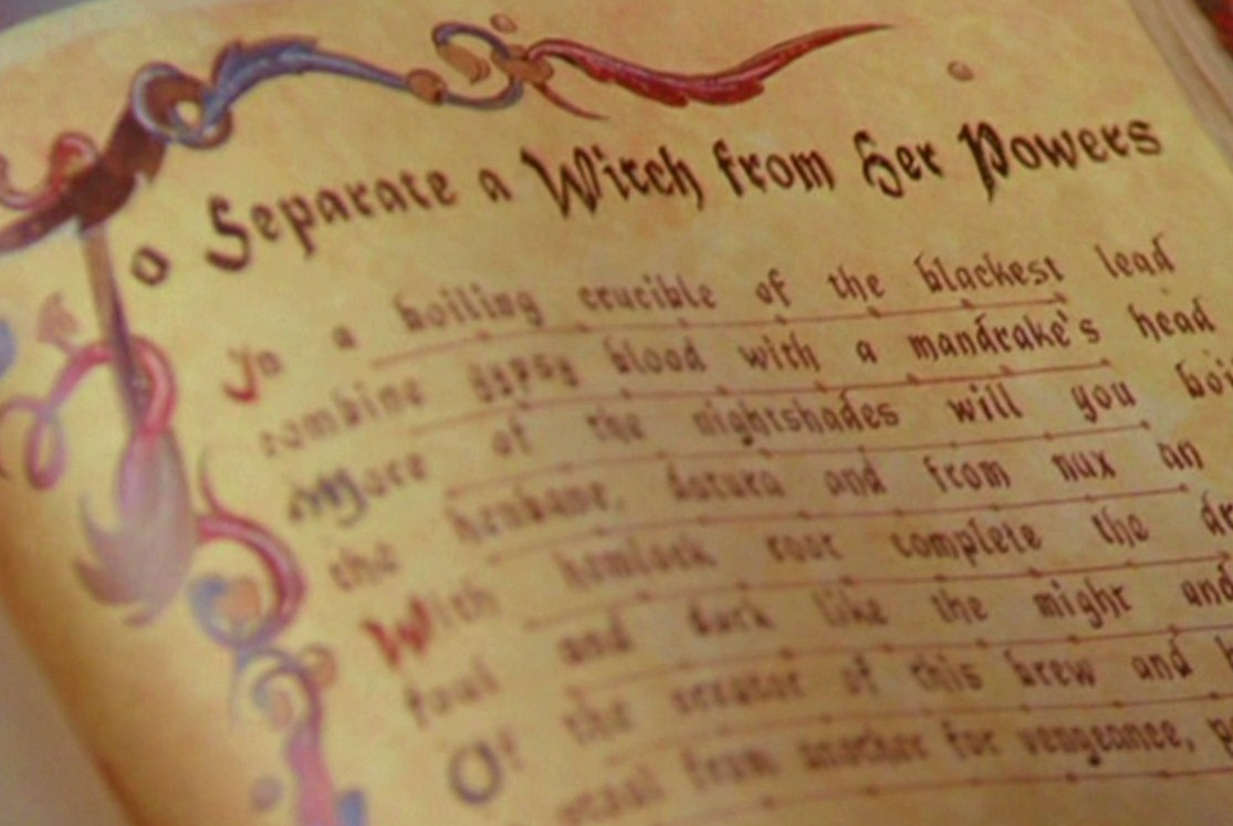 To Separate a Witch From Her Powers | The Charmed Legacy Wiki