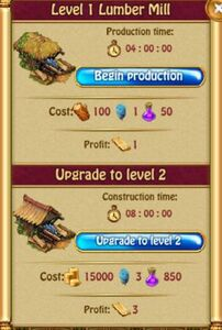 Lumber Mill Production L1
