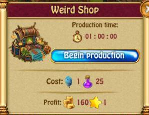 Weird Shop Production L1