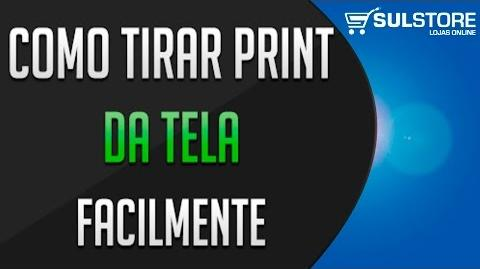 COMO TIRAR PRINT NO PC E NOTEBOOK WINDOWS - DICA FÁCIL E ÚTIL