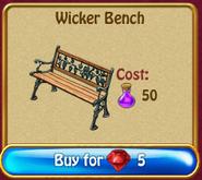 Wicker bench5