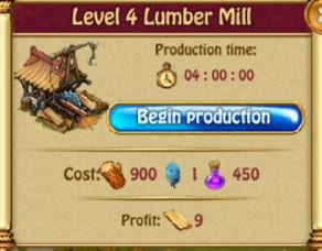 Lumber Mill Production L4