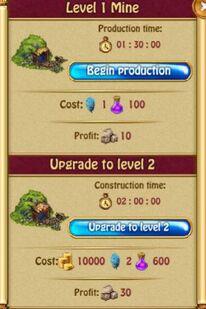Mine Production L1