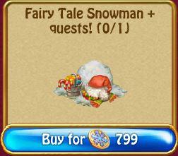 Fairy Tale Snowman