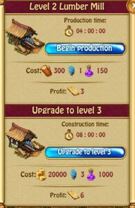 Lumber Mill Production L2