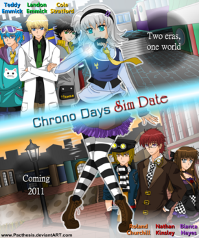 Chrono days promo poster by pacthesis-d31w286
