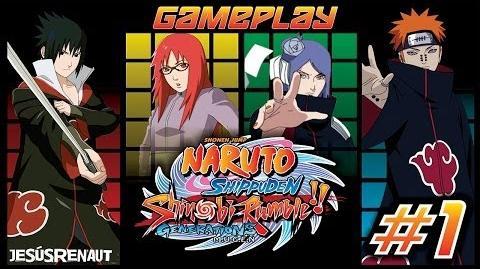 Naruto Shippuden Shinobi Rumble Generations M U G E N Wiki Chars De La Serie Naruto Fandom