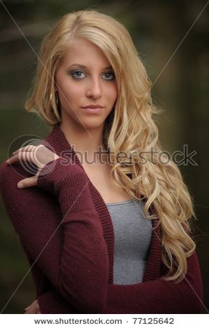 Pictures of pretty woman with blonde hair