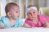 Boy-girl-infant-twins