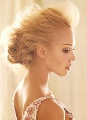 Jessica-alba-curly-braided-blonde-updo-hairstyle