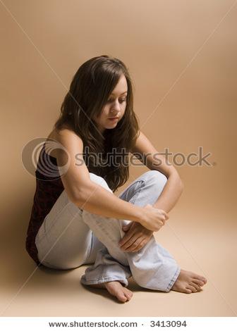 Why Do Girls Temporize Cross Legged