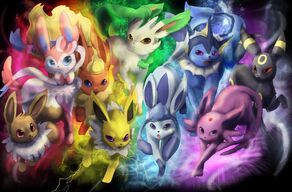 Eevee and Friends