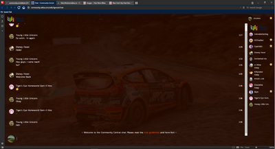 PrntScr WRC Chat Skin 2 Full Screen