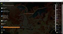 PrntScr Charizard Chat Skin Full Screen