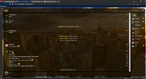 PrntScr New York City Chat Skin Full Screen