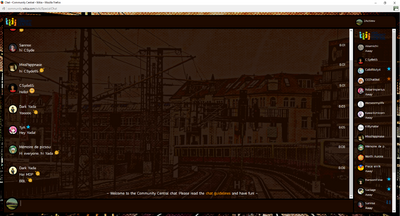 PrntScr Berlin U-Bahn Chat Skin Full Screen