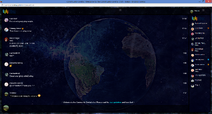 PrntScr Earth Chat Skin Full Screen