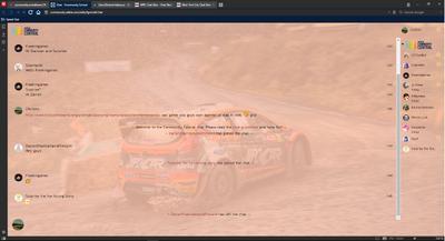 PrntScr WRC Chat Skin Full Screen