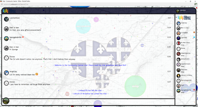 PrntScr Agario Chat Skin Full Screen