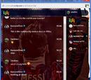 Lionel Messi Chat Skin